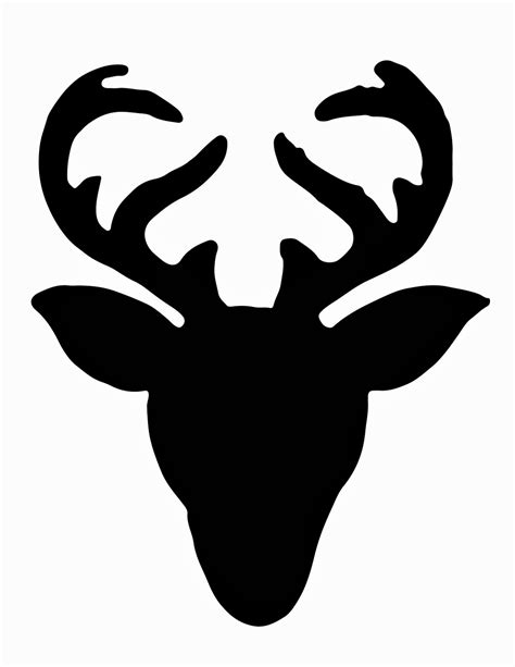 Nosew Deer Head Silhouette Sweater  Less Than Perfect