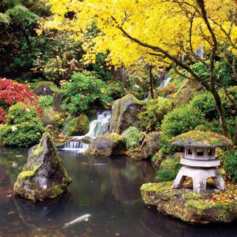 garden in portland or portland japanese garden portland or sunset