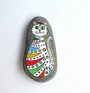 Steine Bemalen Katze : steine bemalen 40 ideen f r originelles basteln mit steinen ~ Watch28wear.com Haus und Dekorationen