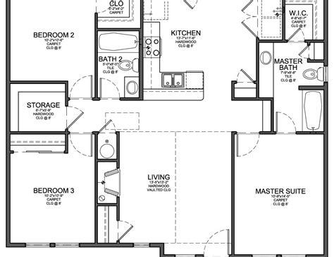 Three Bedroom Floor Plans (photos And Video