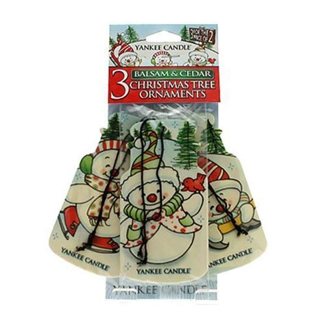 yankee candle balsam and cedar 3 pack christmas tree