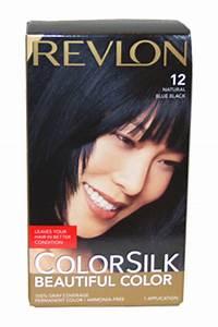 ColorSilk Beautiful Color 12 Natural Blue Black By Revlon