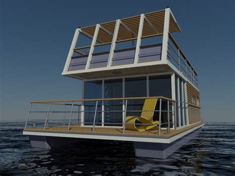 Houseboats Designs by Keywest Houseboat Designs Markus Bach