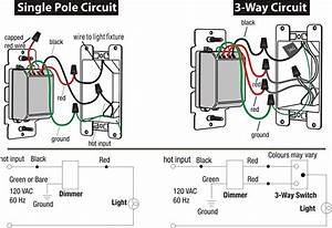 Wiring Diagram For Led Dimmer Switch