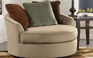Oversized swivel accent chair for living room home for Swivel accent chairs for living room