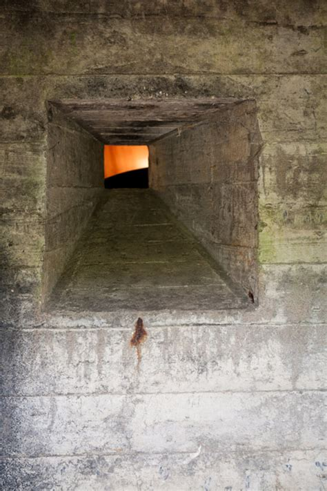 concrete retreat  sq ft home  wwii dutch defense