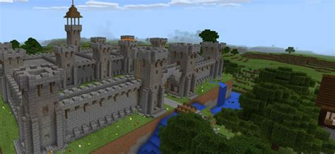 castle adventure mcpe maps minecraft pocket edition