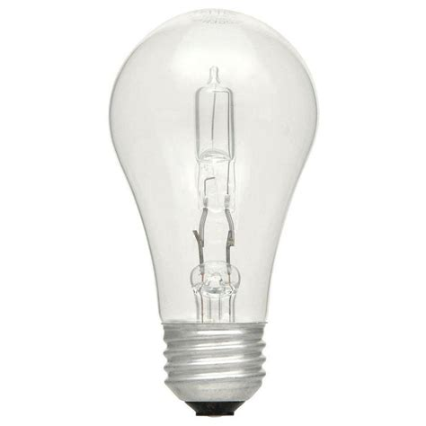 ecosmart 75w equivalent eco incandescent soft white a19