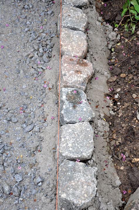 pflastern ohne randsteine gartenwege und pl 228 tze selber pflastern