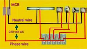 House Wiring Or Home Wiring Connection Diagram