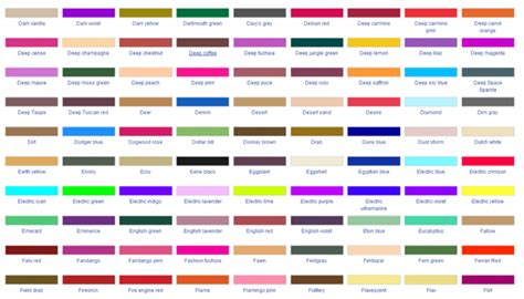 how to describe colors describe a color without using its name alexandre j