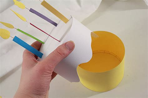 paper birthday cake box tallys treasury