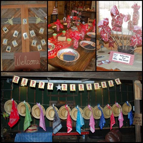 western birthday party decorations home party ideas