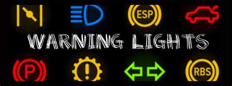 understanding toyota warning lights