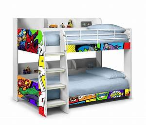 domino superheroes bunk bed bunk beds ireland With choosing boys bunk beds for your superhero