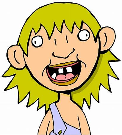 Crazy Clipart Clip Hillbilly Redneck Person Woman