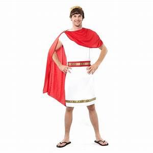 Tenue Blanche Homme : tenue de romain blanche avec cape rouge ~ Melissatoandfro.com Idées de Décoration