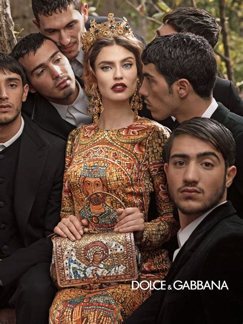 dolce and gabbano dolce gabbana fall winter 2013 caign fab fashion fix