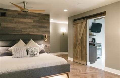 contemporary master suite  granger delivers