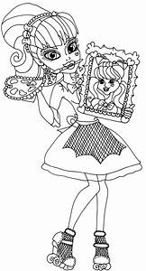 Draculaura Sweet 1600 - Free Coloring Pages