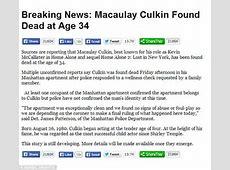 Macaulay Culkin responds to death hoax with Instagram
