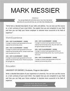 Free resume template design 561 to 567 free cv for Hockey player resume template