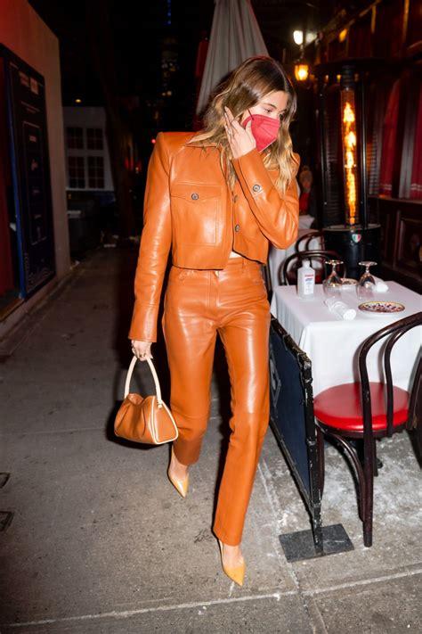Hailey Bieber At Carbone Restaurant in NYC - Celebzz - Celebzz