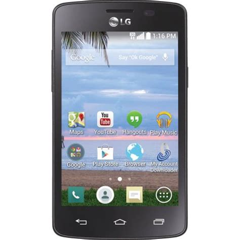 safelink touch screen phones tracfone lg lucky android prepaid smartphone walmart