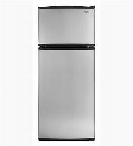 Whirlpool Refrigerator Brand: Stainless Steel Top Freezer ...