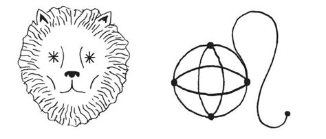 What Is The Symbol by Leo Symbol And Astrology Sign Glyph Astrostyle