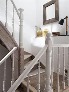 Peindre Escalier En Bois : beautiful peindre les contremarches d un escalier en bois ~ Dailycaller-alerts.com Idées de Décoration