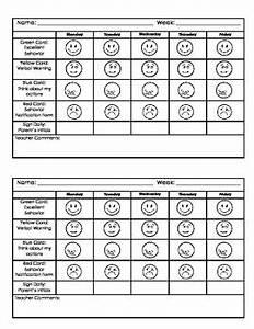 Kindergarten Behavior Chart By Jillian Teachers Pay Teachers