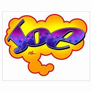 """Your Name Graffiti Gear"" Joe Poster"