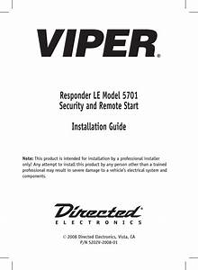 Viper 5806v Installation Guide