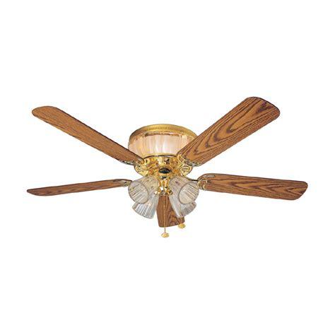 harbor breeze fan installation shop harbor breeze 52 quot moonglow polished brass ceiling fan