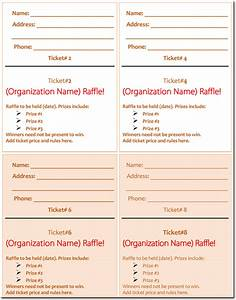 pin free download raffle ticket template auto number on With numbered event ticket template free