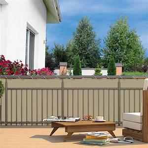 Balkon Sichtschutz Creme Von Grtner Ptschke
