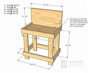PDF DIY Children Workbench Plans Download child desk plans