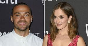 Grey's Anatomy's Jesse Williams and Charlie's Angel Minka ...