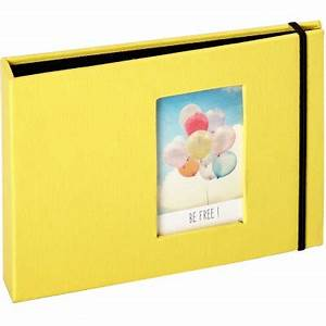 Album Photo Pour Polaroid : mini album pour photos polaroid jaune 72 photos panodia ~ Teatrodelosmanantiales.com Idées de Décoration