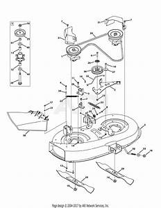 Mtd 13a276lf031  Lt3800   2013  Parts Diagram For Mower Deck