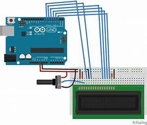 Arduino Lcd 16x2 Interfacing