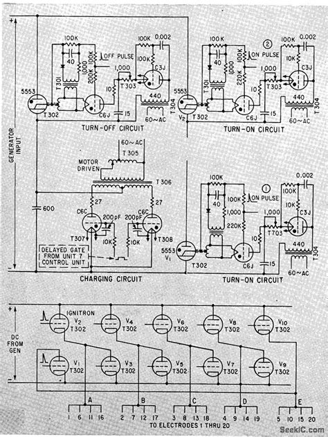 Electric Fish Fence Control Circuit Diagram