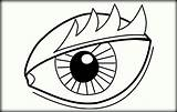 Coloring Pages Eye Eyes Eyeball London Scary Printable Drawing Clipartmag Funny Getcolorings Adults Colorings Snake sketch template