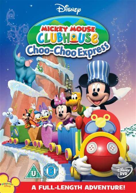 mickey mouse club house mickeys choo choo dvd zavvi uk