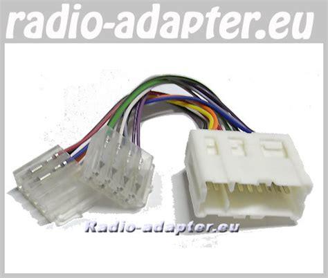 nissan x trail 2001 2004 car radio wire harness wiring iso lead car hifi radio adapter eu