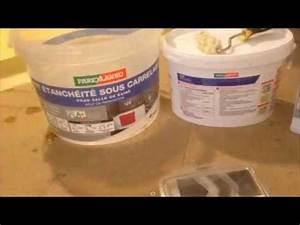 Etancheite Douche Italienne : douche italienne compl ment d tanch it www maconnerie youtube ~ Medecine-chirurgie-esthetiques.com Avis de Voitures