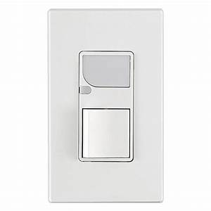 Leviton 6526-w - Combination Decora Switch
