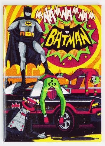 batman fridge magnet adam west joker dc comics