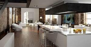 Moderne Küche Mit Kochinsel Und Theke : k che mit kochinsel und theke architektur moderne 73682 haus ideen galerie haus ideen ~ Bigdaddyawards.com Haus und Dekorationen